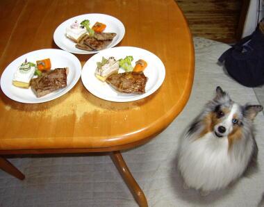 クリスマスのディナー早く食べたい!!